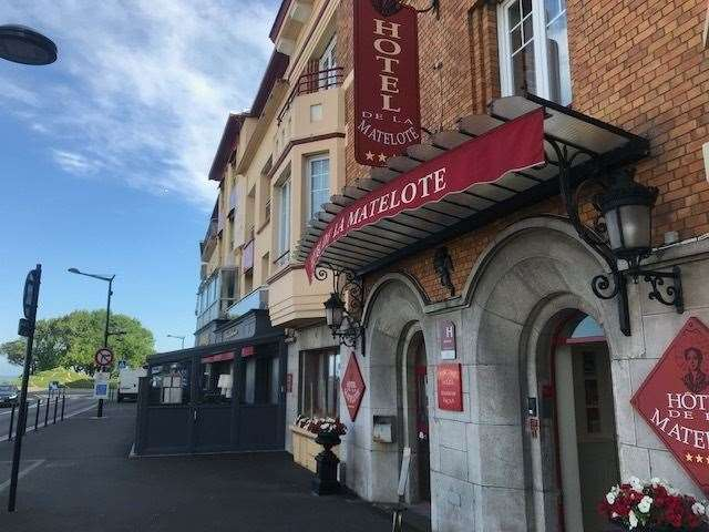 The four-star Hotel La Matelote is situated opposite Nausicaa in Boulogne