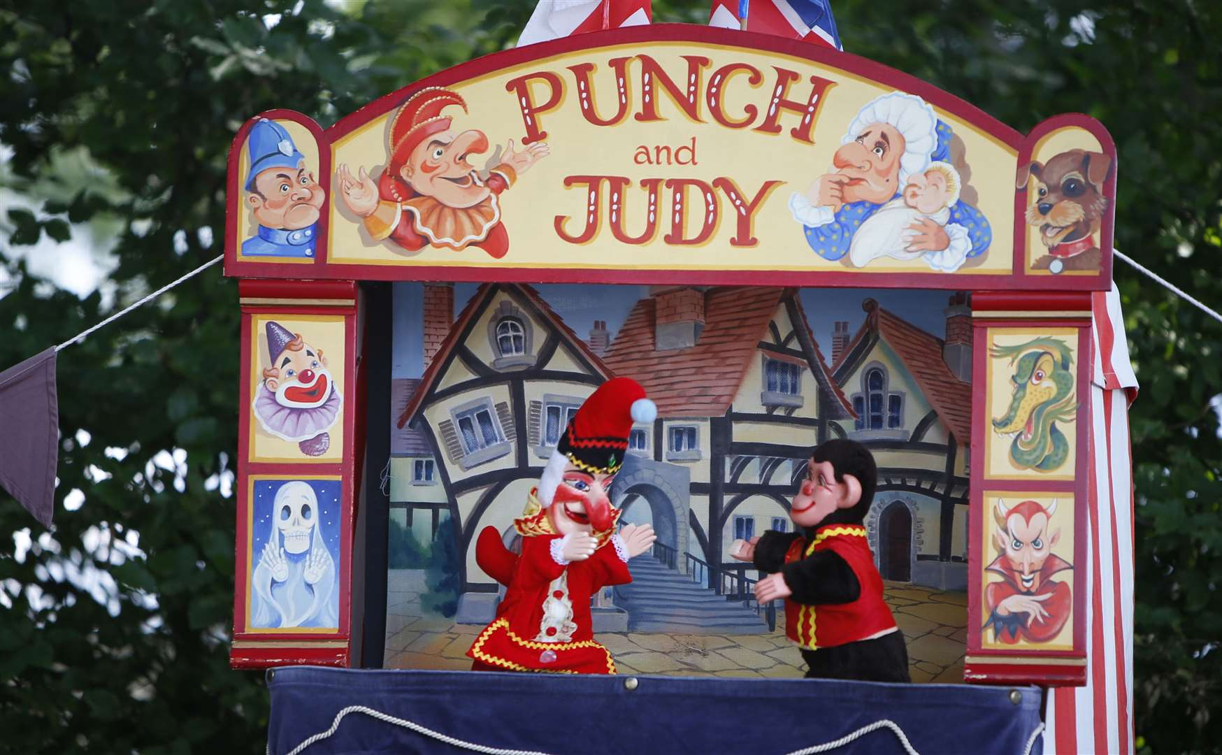 Punch & Judy at last year's show Picture: Andy Jones