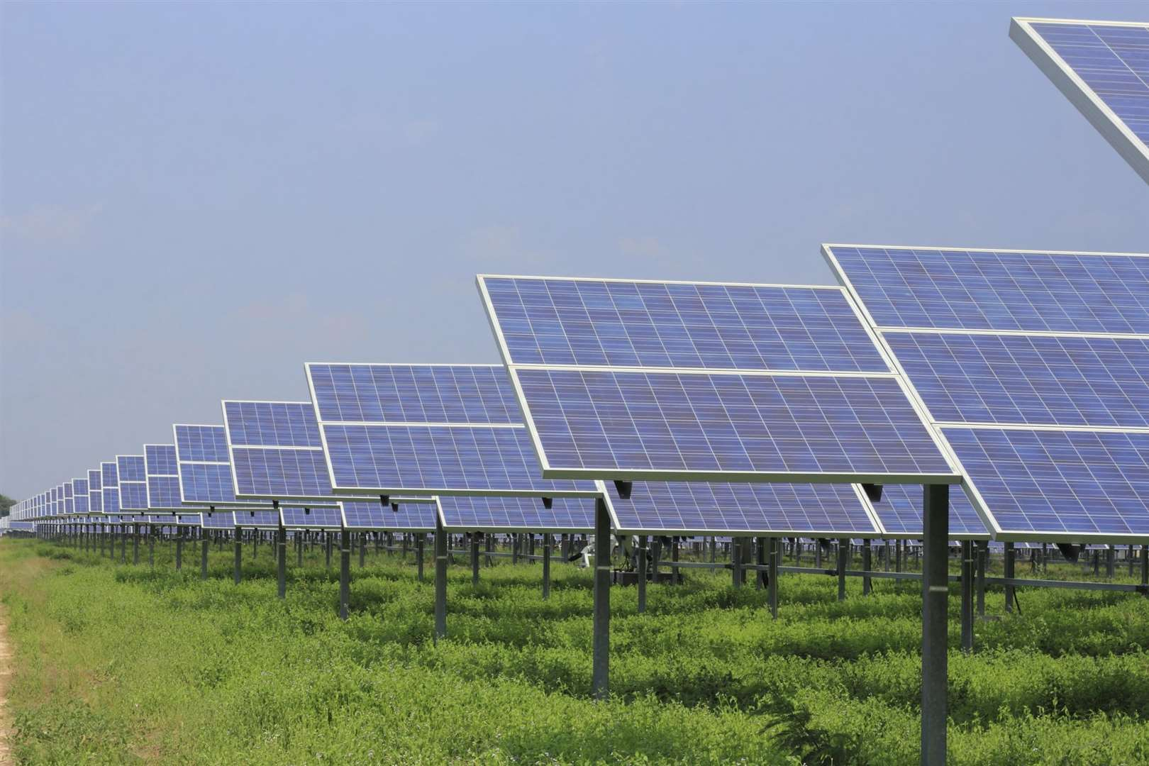 An 890-acre solar farm has been proposed near Graveney. Picture: Thinkstock