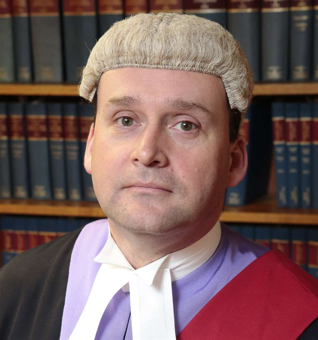 Judge Julian Smith Picture: Martin Apps