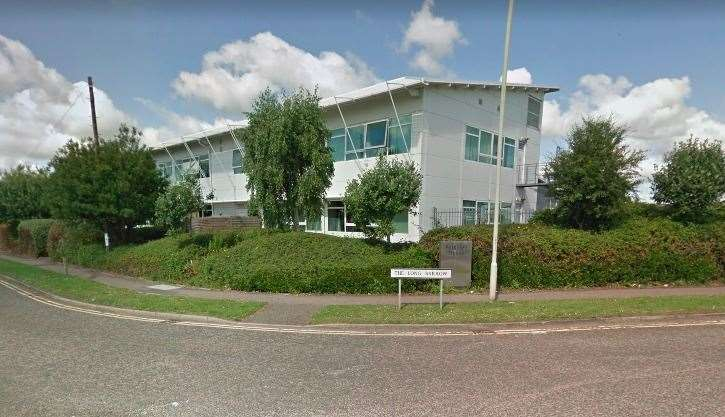 The IC24 site in Ashford was shut for a deep clean. Photo: Google Maps