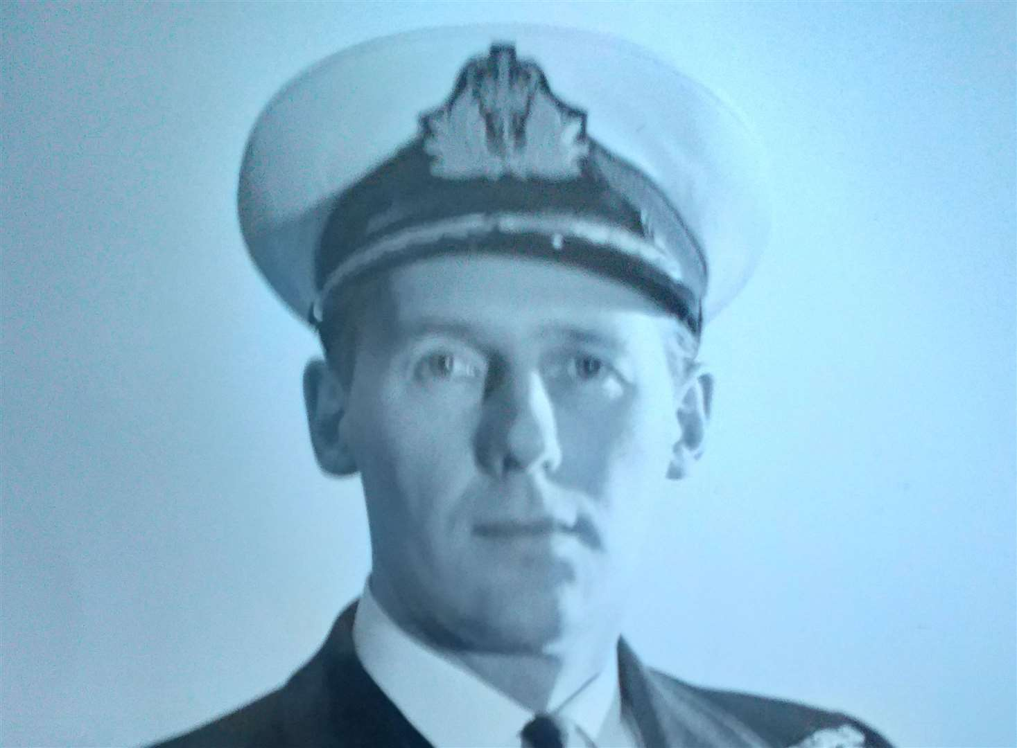 Pictured while Captain of Galatea in 1967