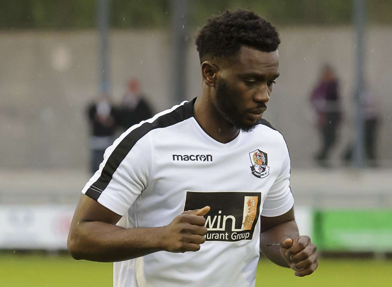 Warren Mfula has signed for Dartford Picture: Andy Payton