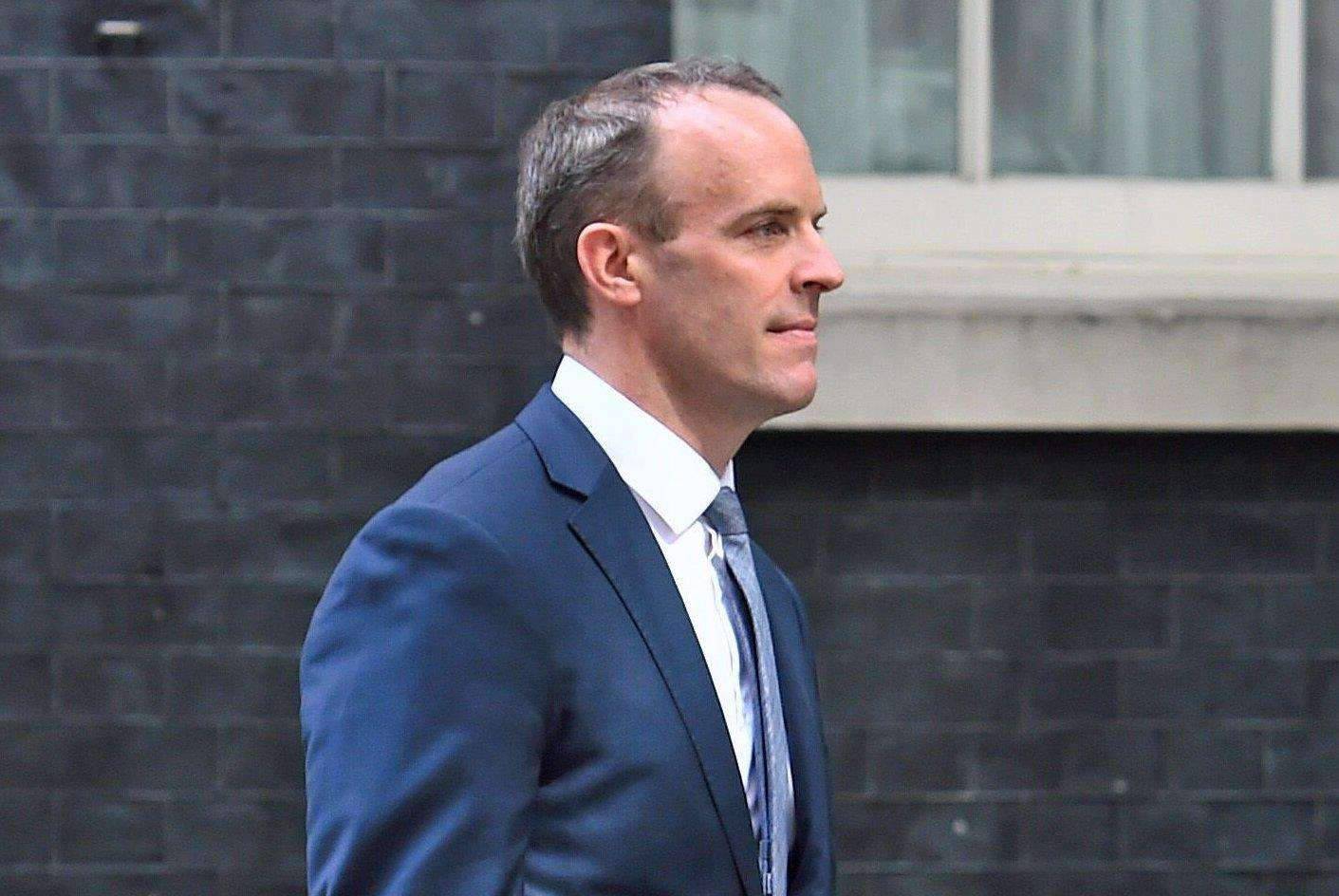 Dominic Raab was criticised today for the comments. Picture: Kirsty O'Connor/PA Wire
