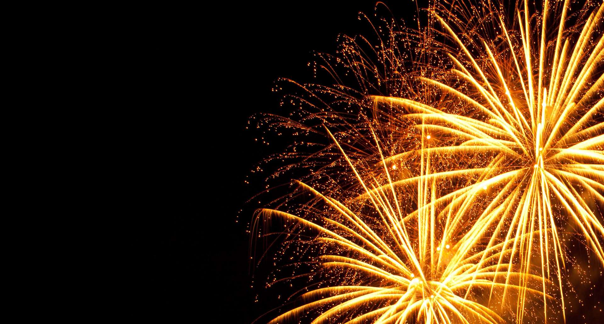 Fireworks can be used in the UK any time from 7am to 11pm.