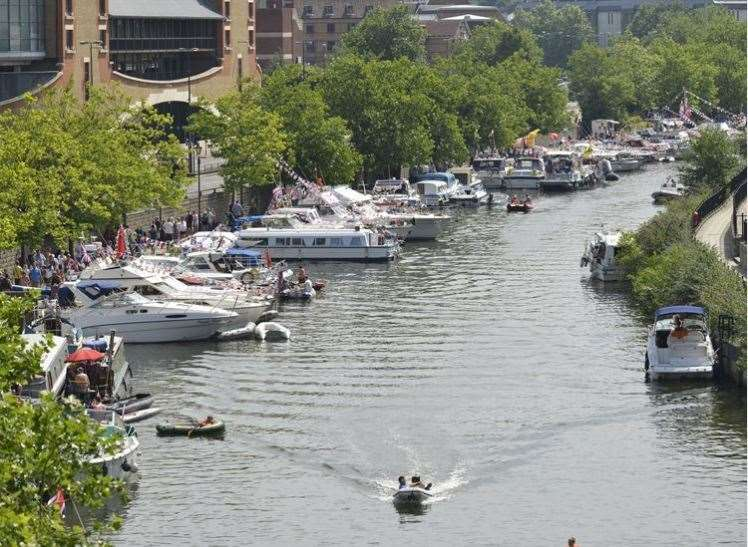 Maidstone River Festival several years ago
