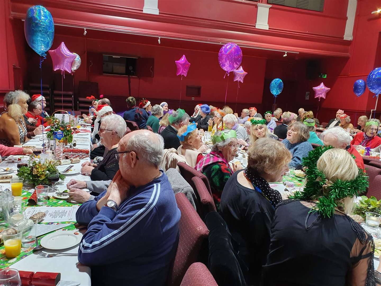 79 guests attended the ACE Boxing Day lunch in Deal