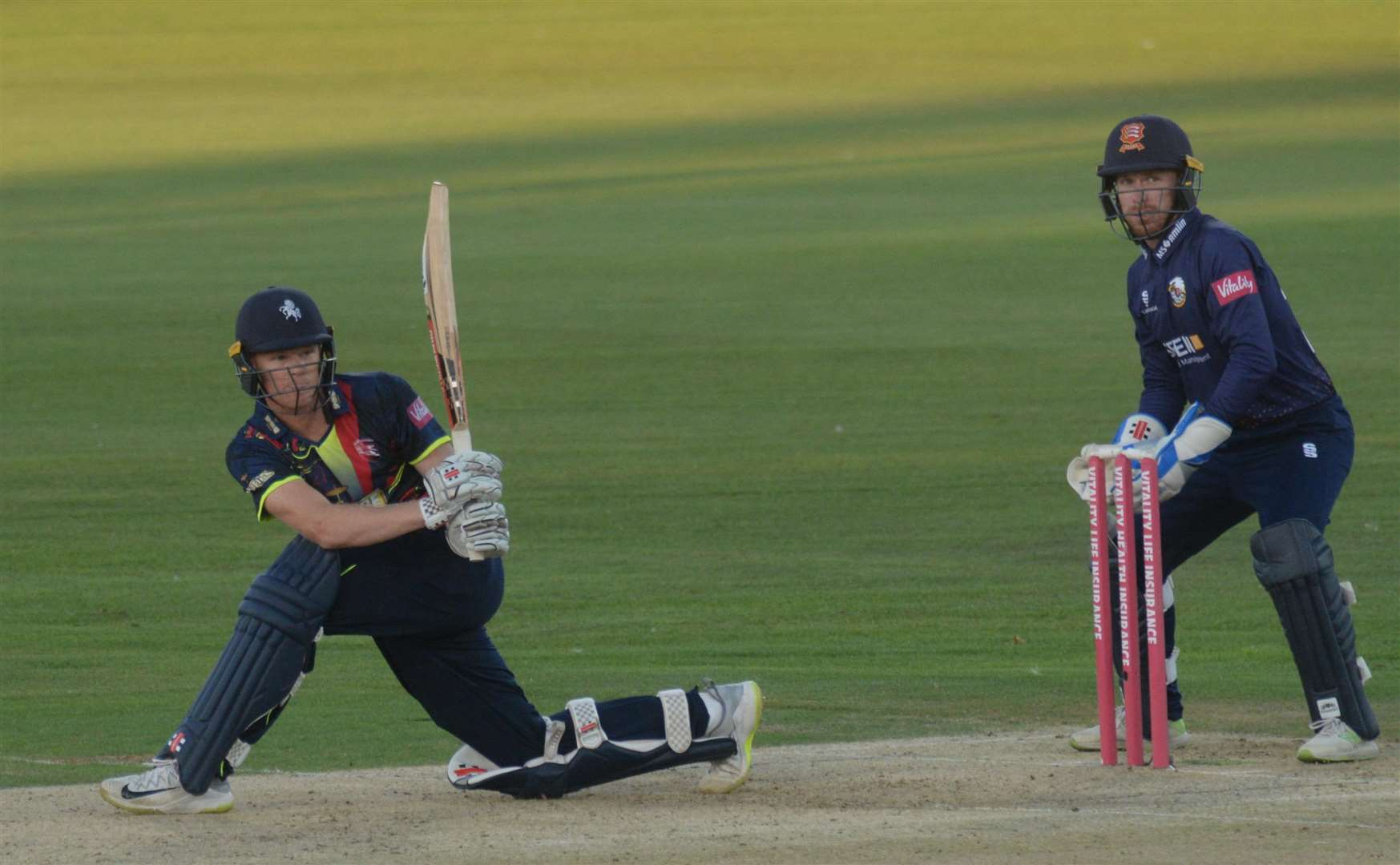 Sam Billings. Picture: Chris Davey.