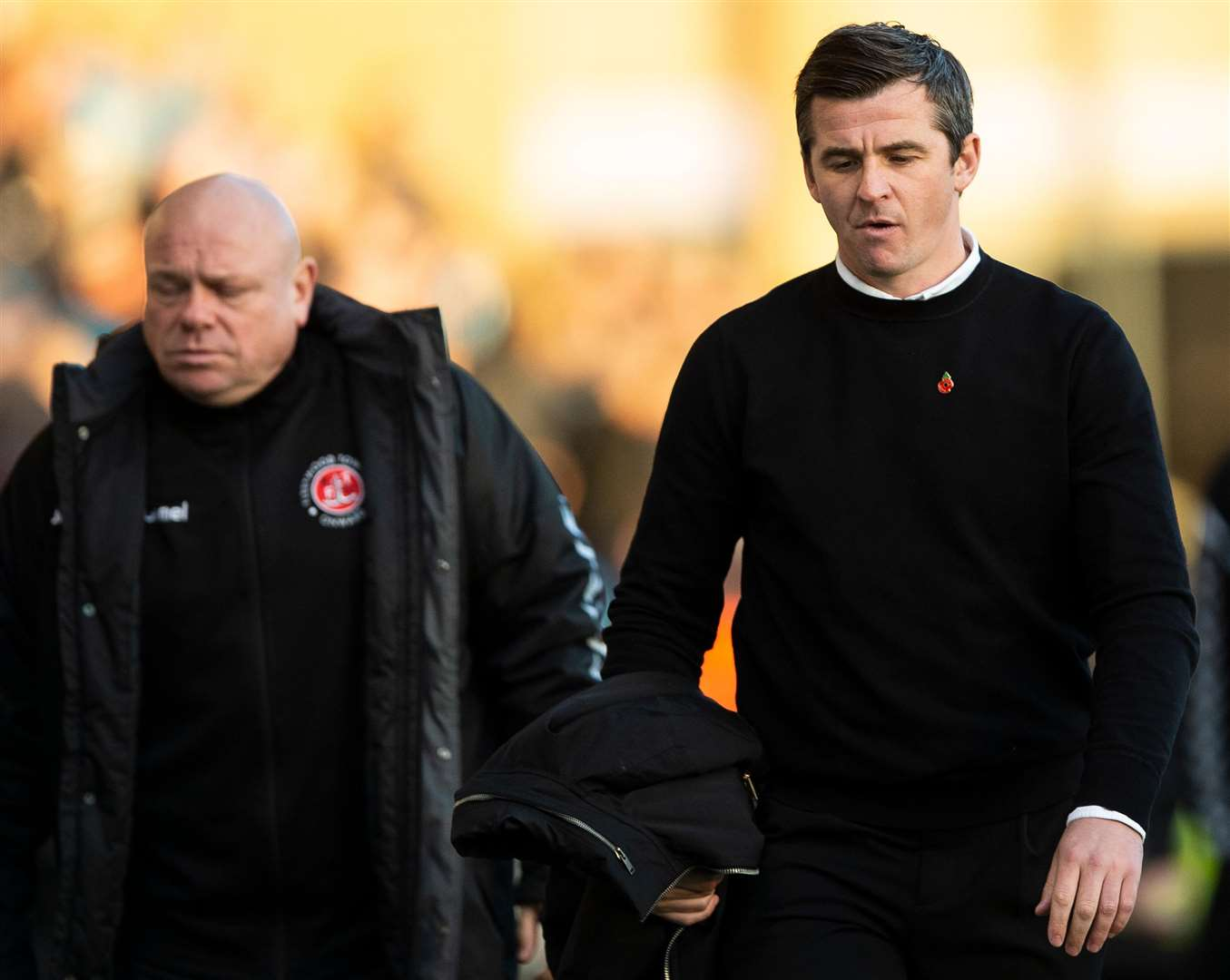 Gills gave Fleetwood manager Joey Barton plenty to ponder at half-time Picture: Ady Kerry