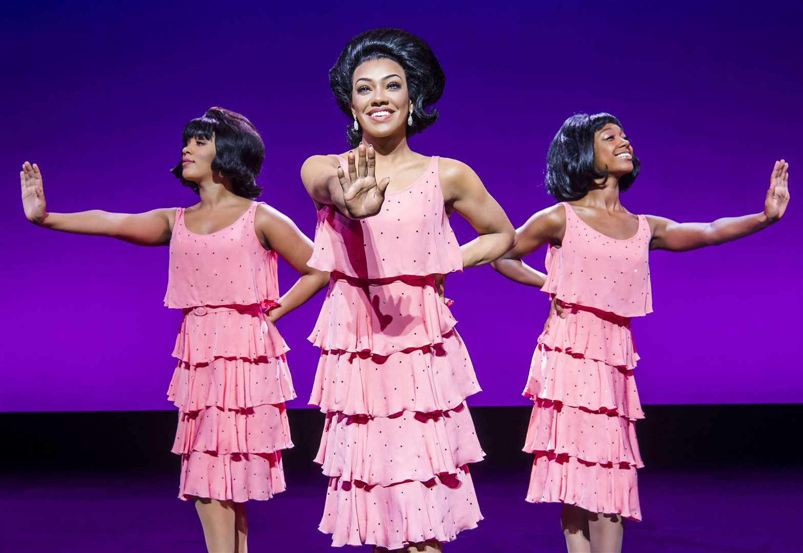 A scene from Motown The Musical UK Tour Picture: Tristram Kenton