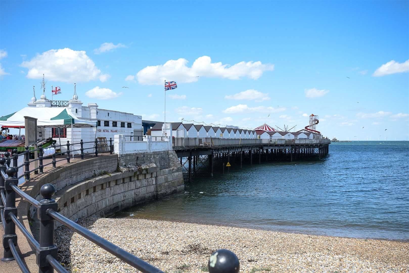 Multi-million-pound plans to extend Herne Bay Pier were revealed by bosses last week