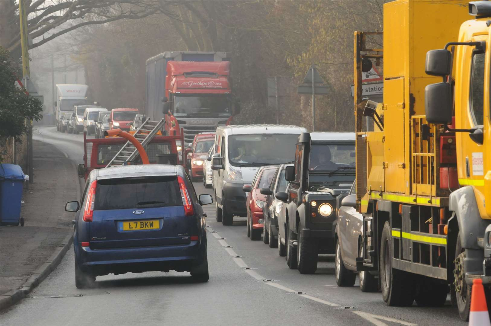 It's hoped the redesigned junction will ease congestion on the A251