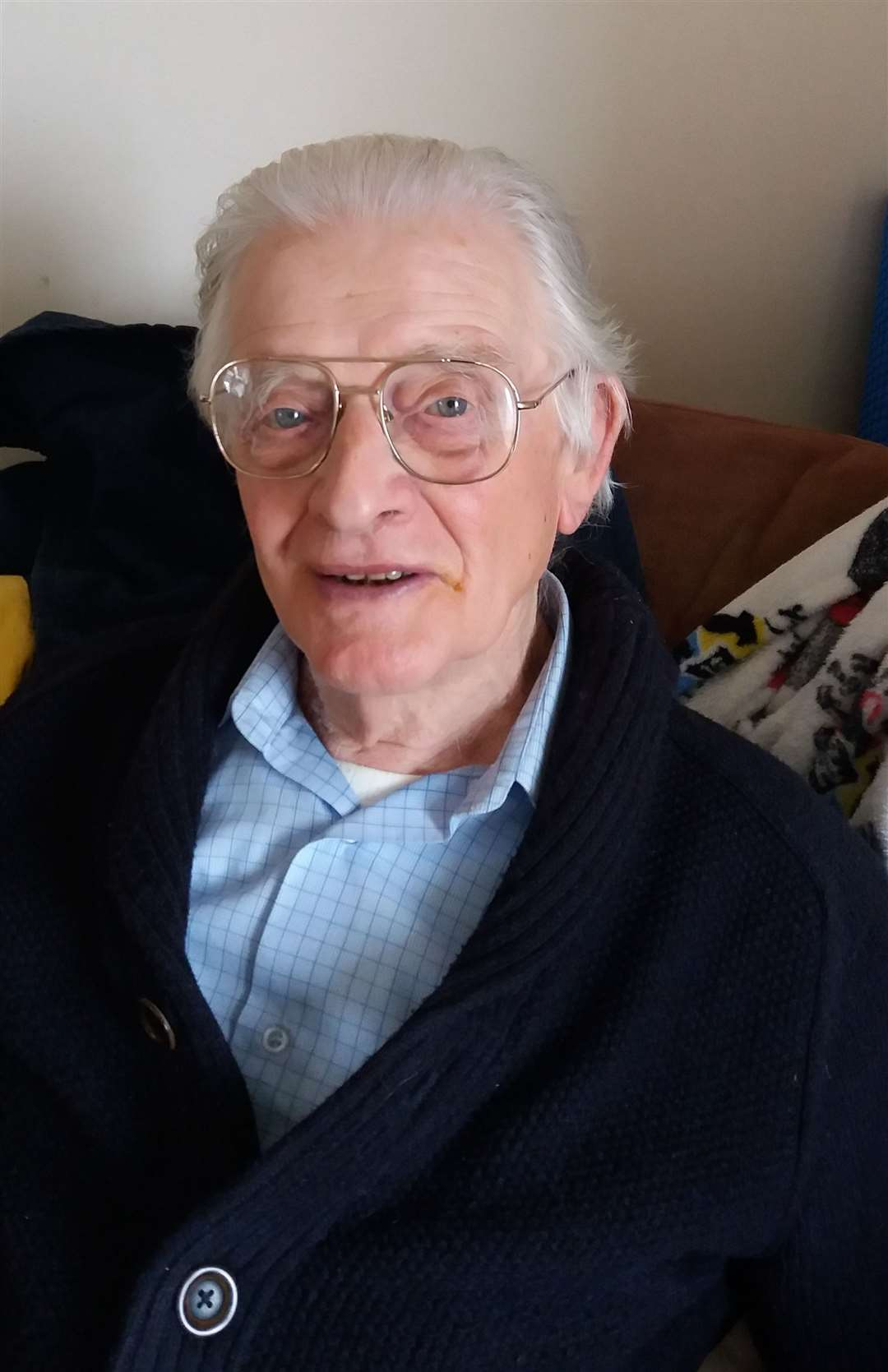 Patrick Clements, 93, from Snodland, was told by Milk & More he had to get an online account, or lose his delivery Picture: Jane Wan