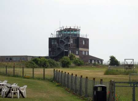 Protestors have occupied the control tower at the Manston airport site. Library image.