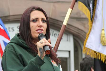 Jayda Fransen is standing in the Rochester and Strood by-election.