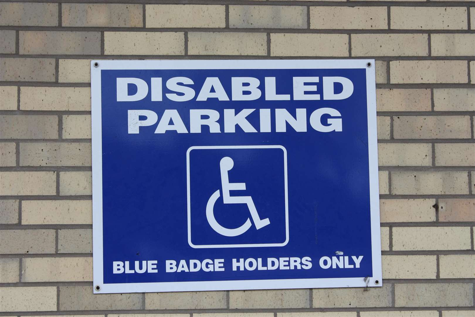 Blue badge stock image. Picture: Wikimedia Commons (7069210)