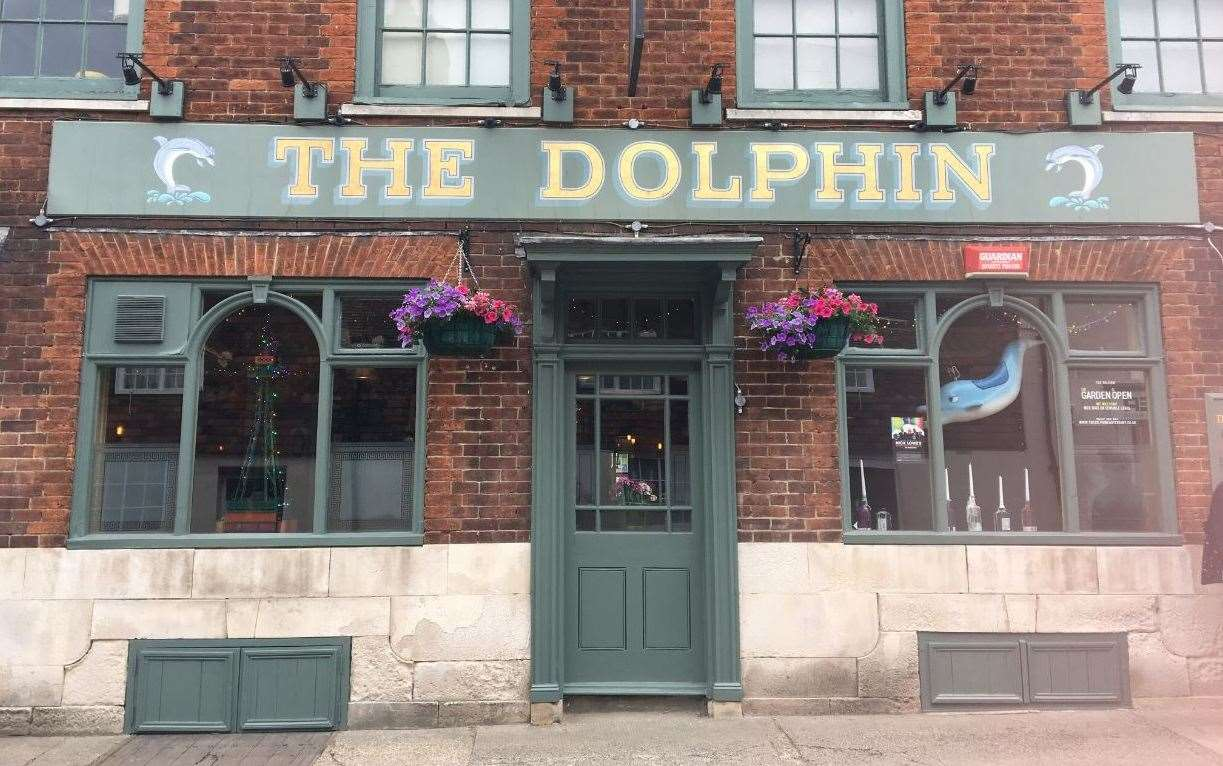The Dolphin in St Radigunds Street