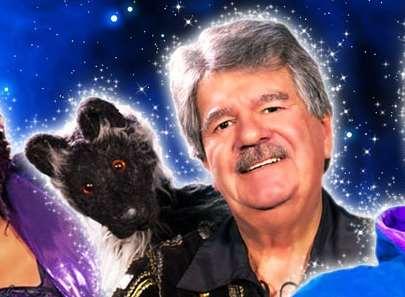 Sevenoaks Tiswas Star Bob Carolgees And Spit The Dog Star