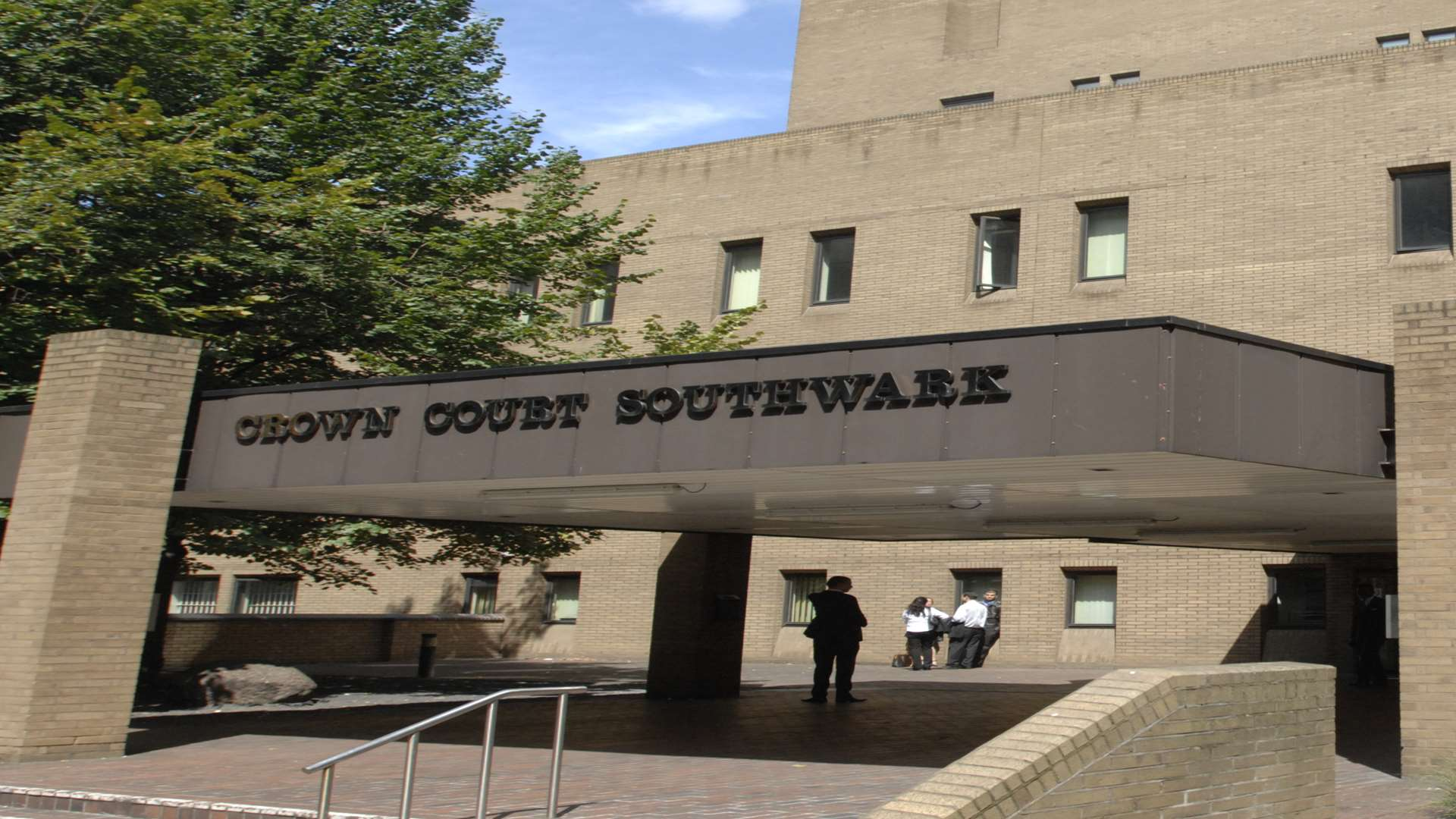 The trial is taking place at Southwark Crown Court