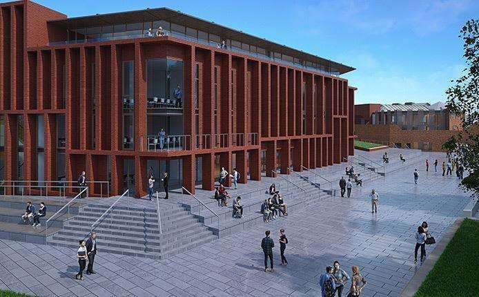 How the new teaching and research building will look at the Christ Church University campus (3477784)