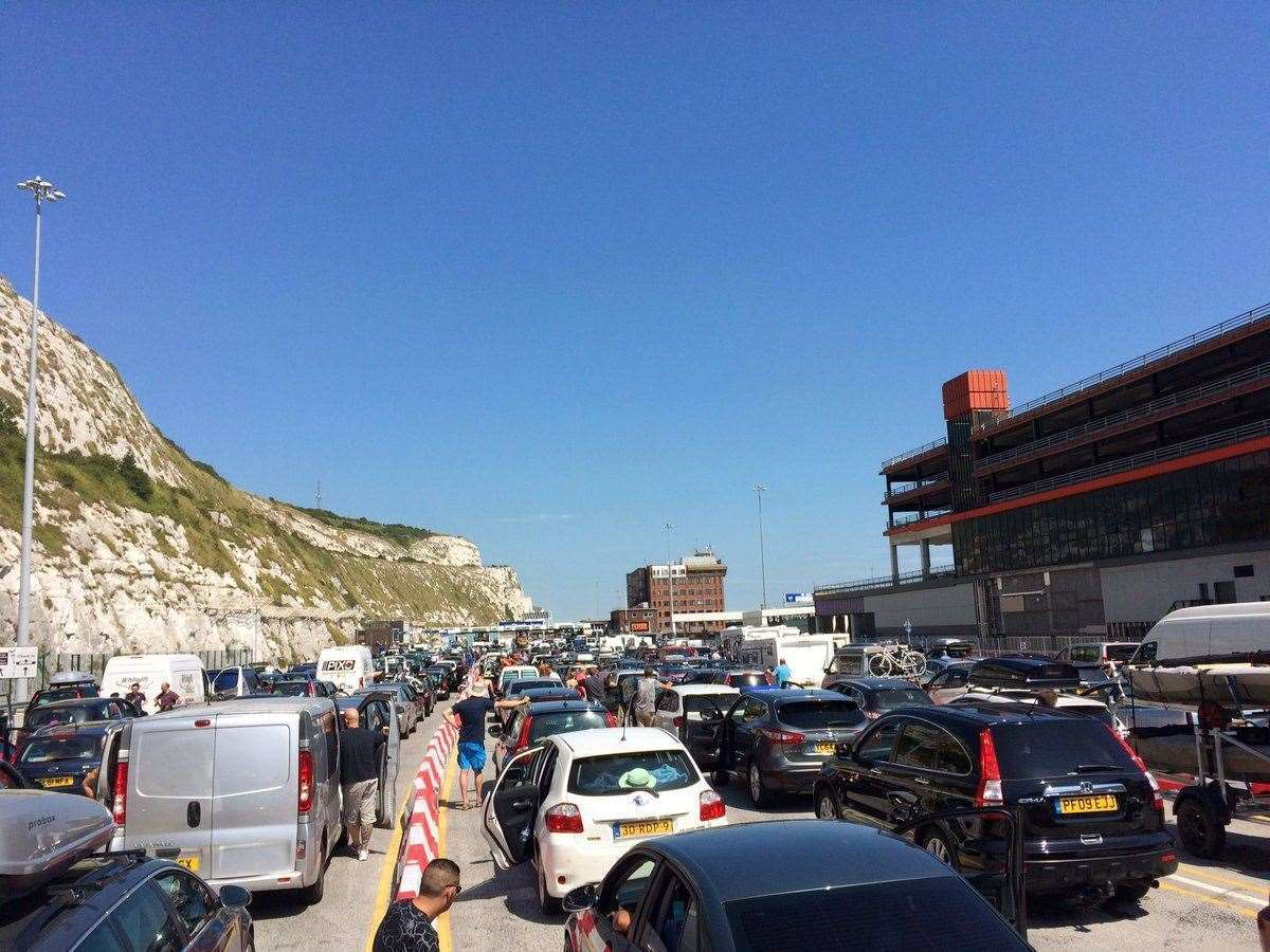 Rising passport controls, along with pent-up demand, could see Kent's roads inundated with vacationers.  File photo: Nadine Hudson
