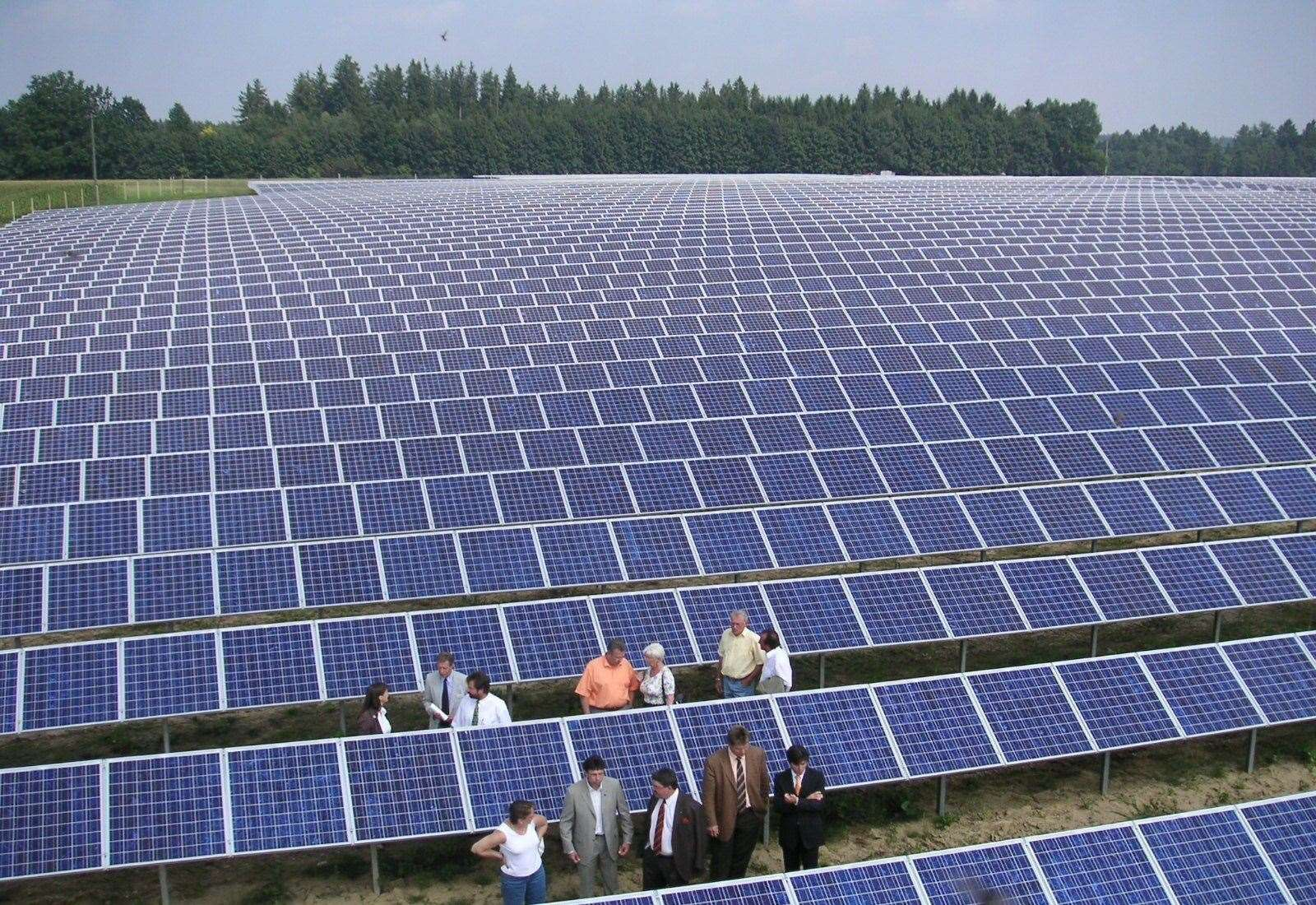 Recycling centres earmarked for solar farms