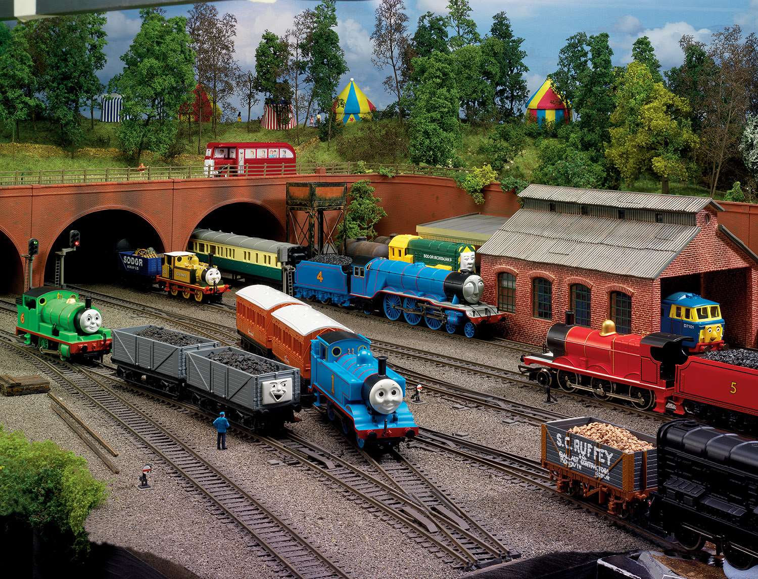 The Thomas and Friends model trains will be made by Hornby to celebrate the character's 70th anniversary.