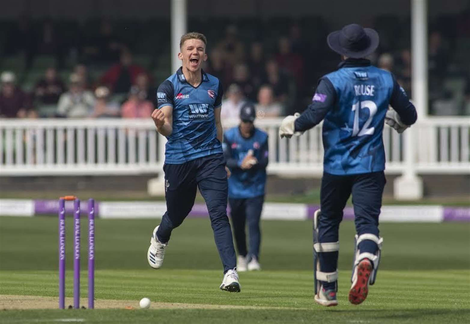 Kent beaten by Hampshire
