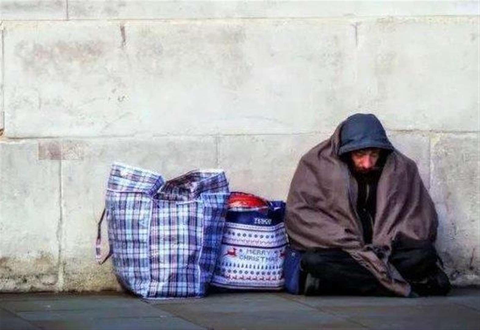 Homeless figures down by more than 50%