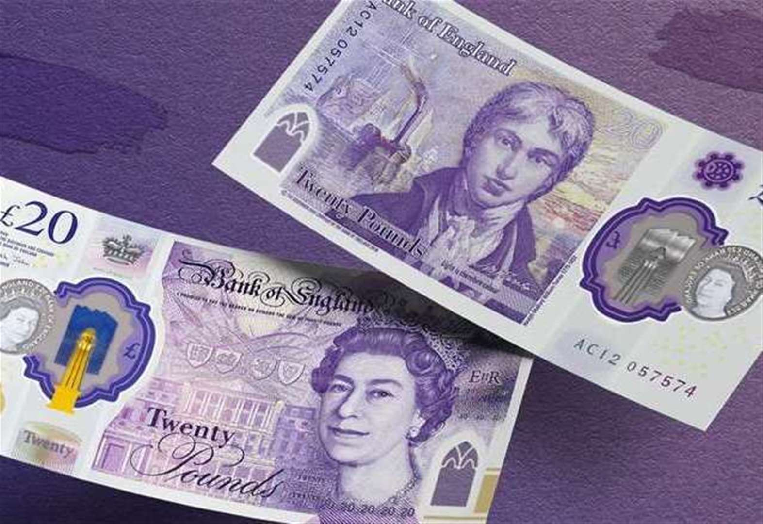 You can now spend the new £20 note