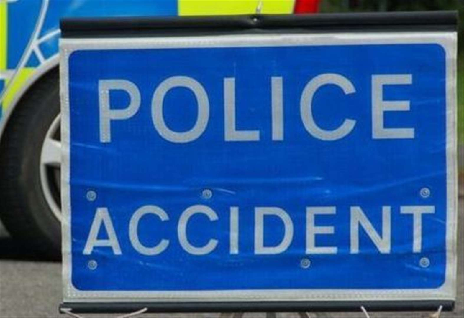 Five-car crash on A2