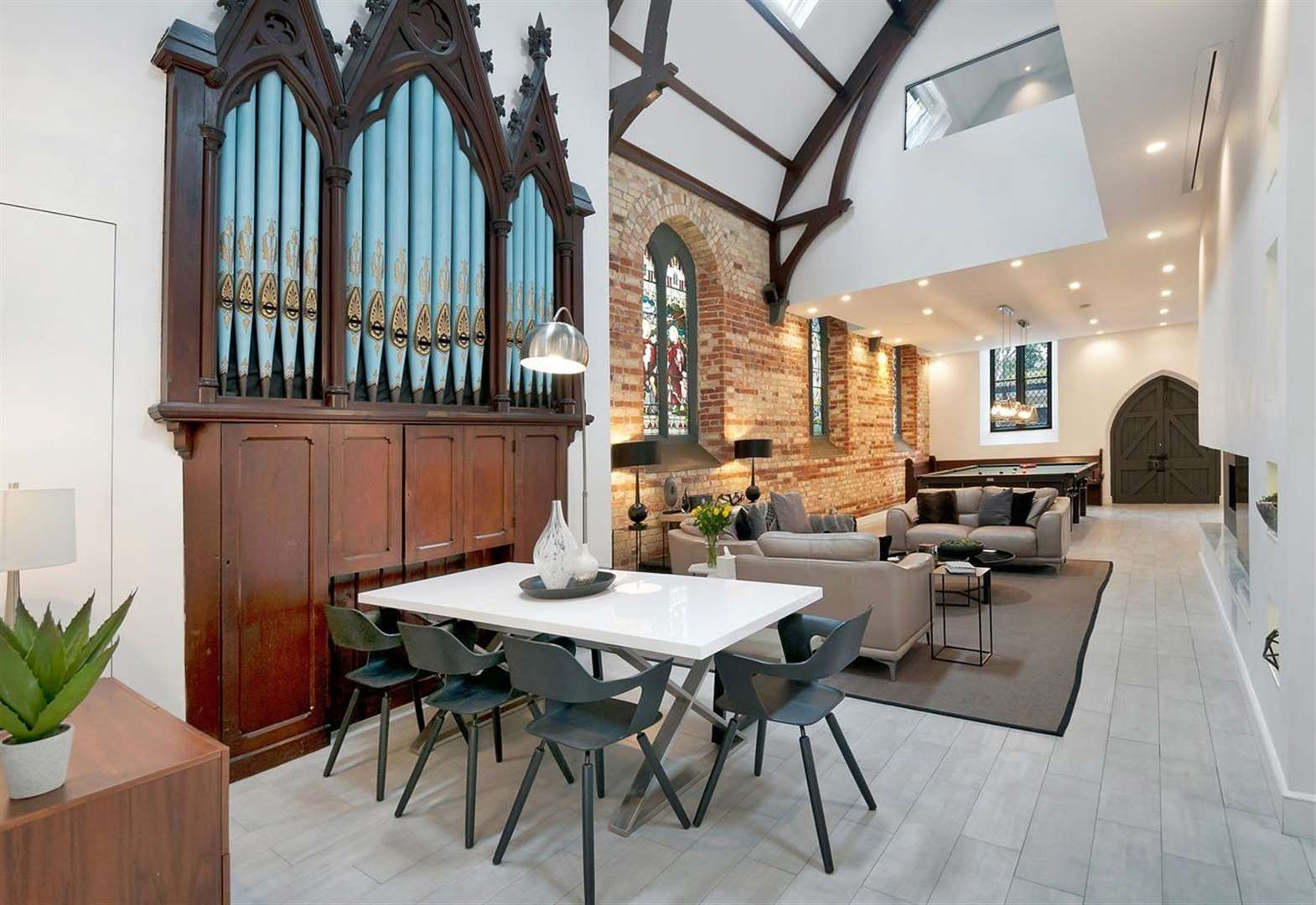 Church transformed into unique home