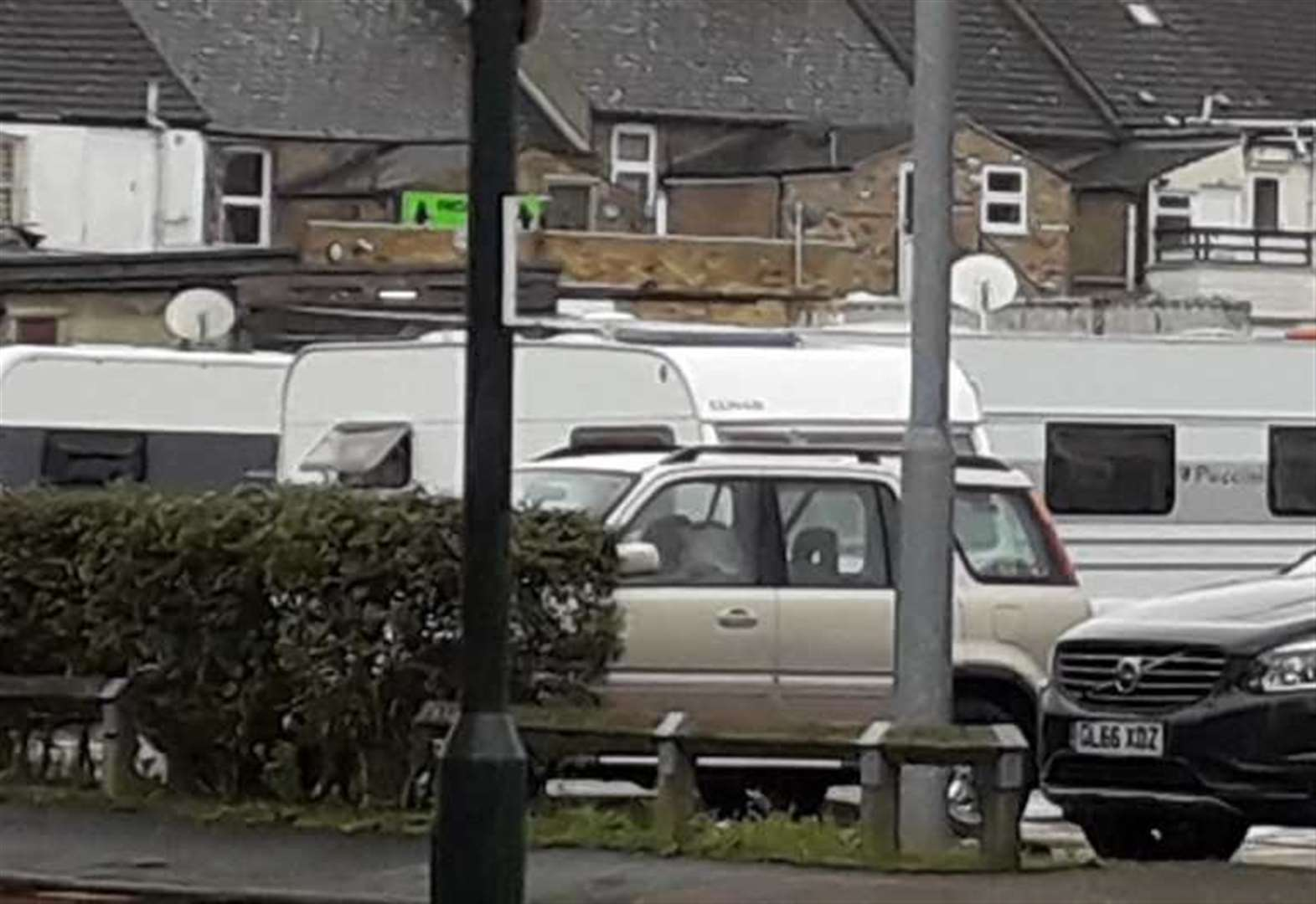 Travellers move on to precinct car park