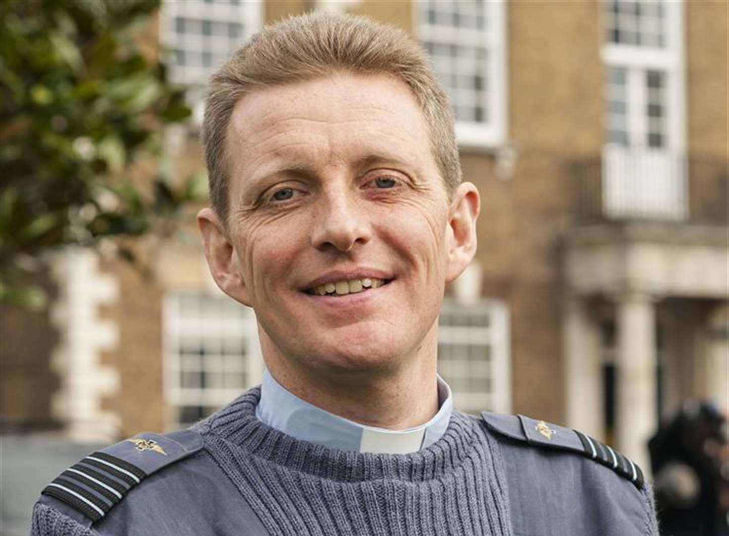 Maidstone RAF Padre is given the MBE