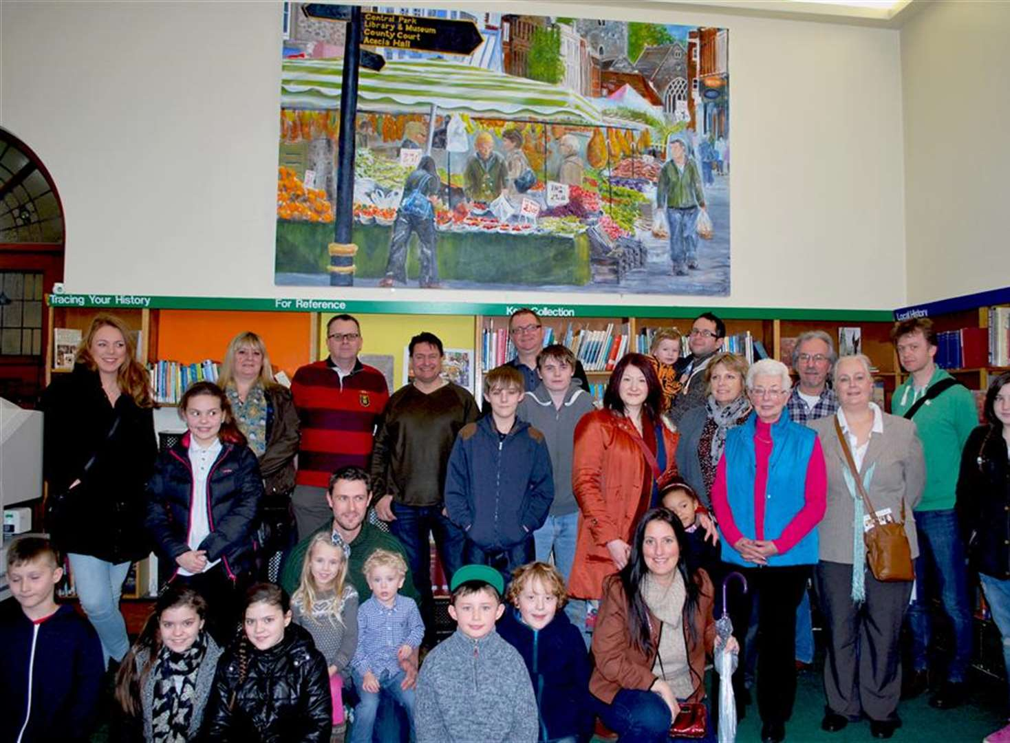 Town's artistic talent takes pride of place