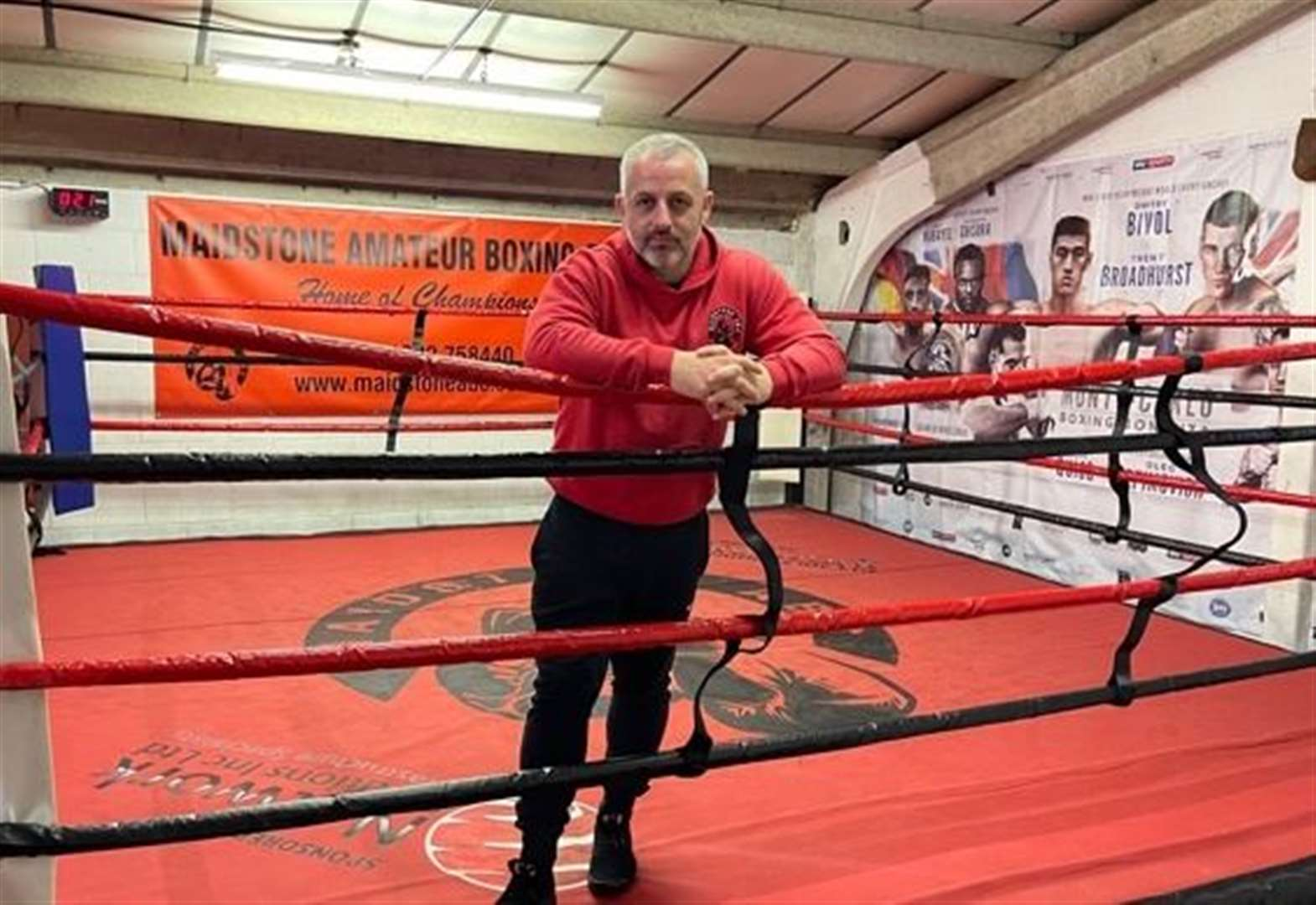 Boxing club's search for new home