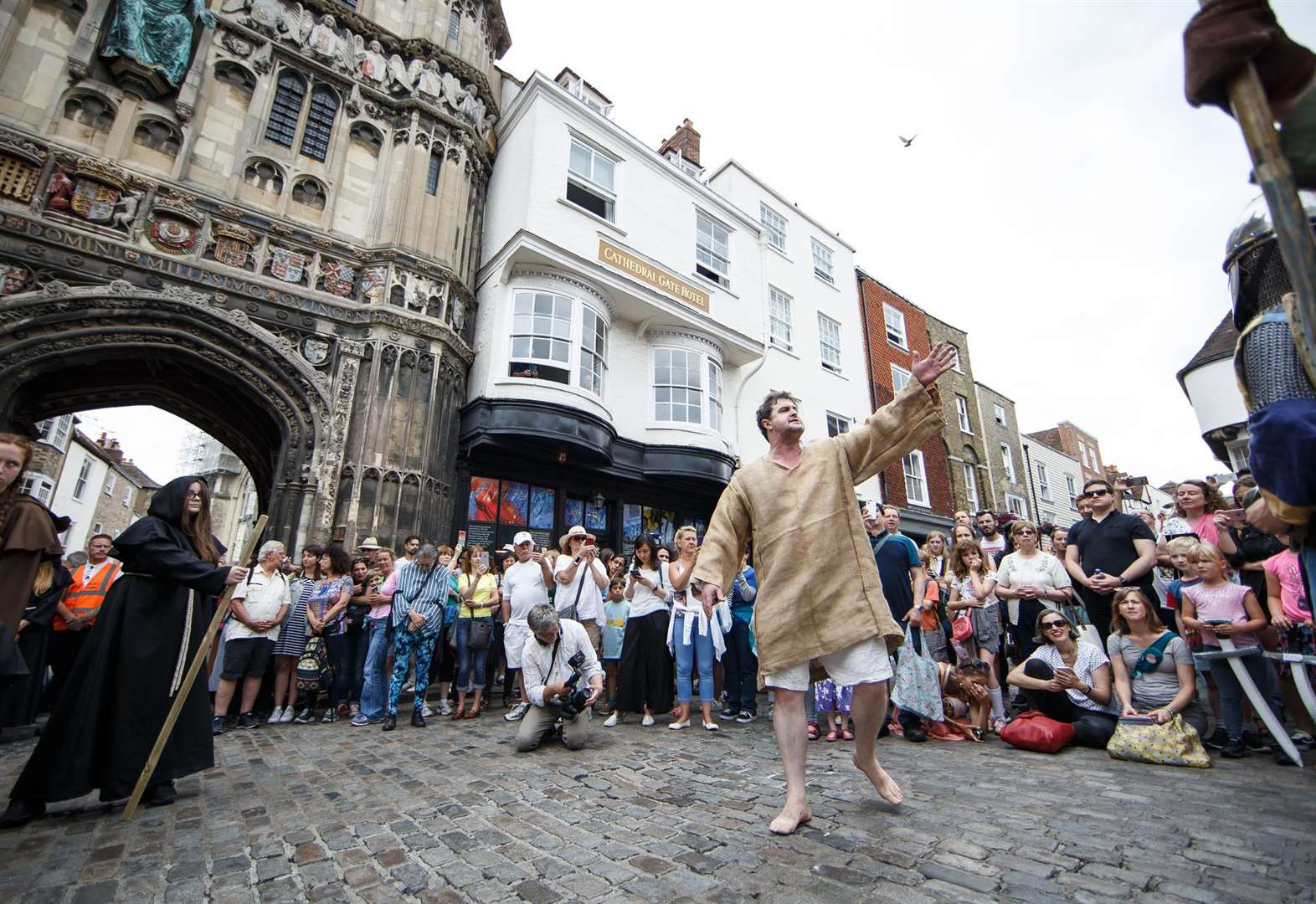 Medieval mayhem comes to the city streets