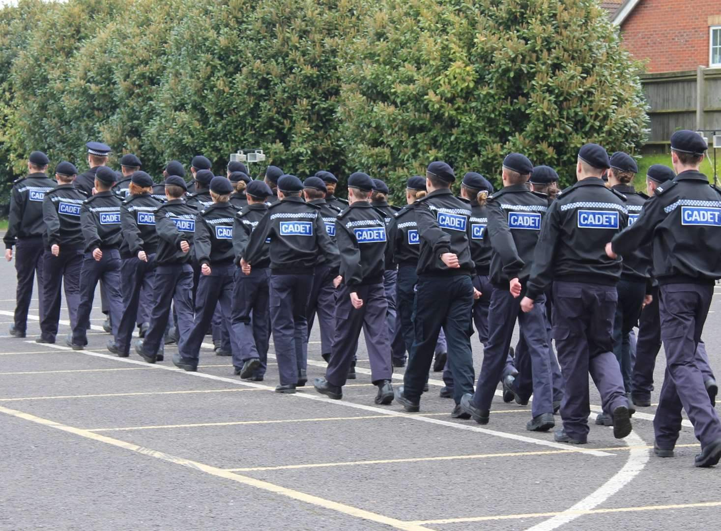 Kent Police Cadets from Canterbury, Medway and Tonbridge