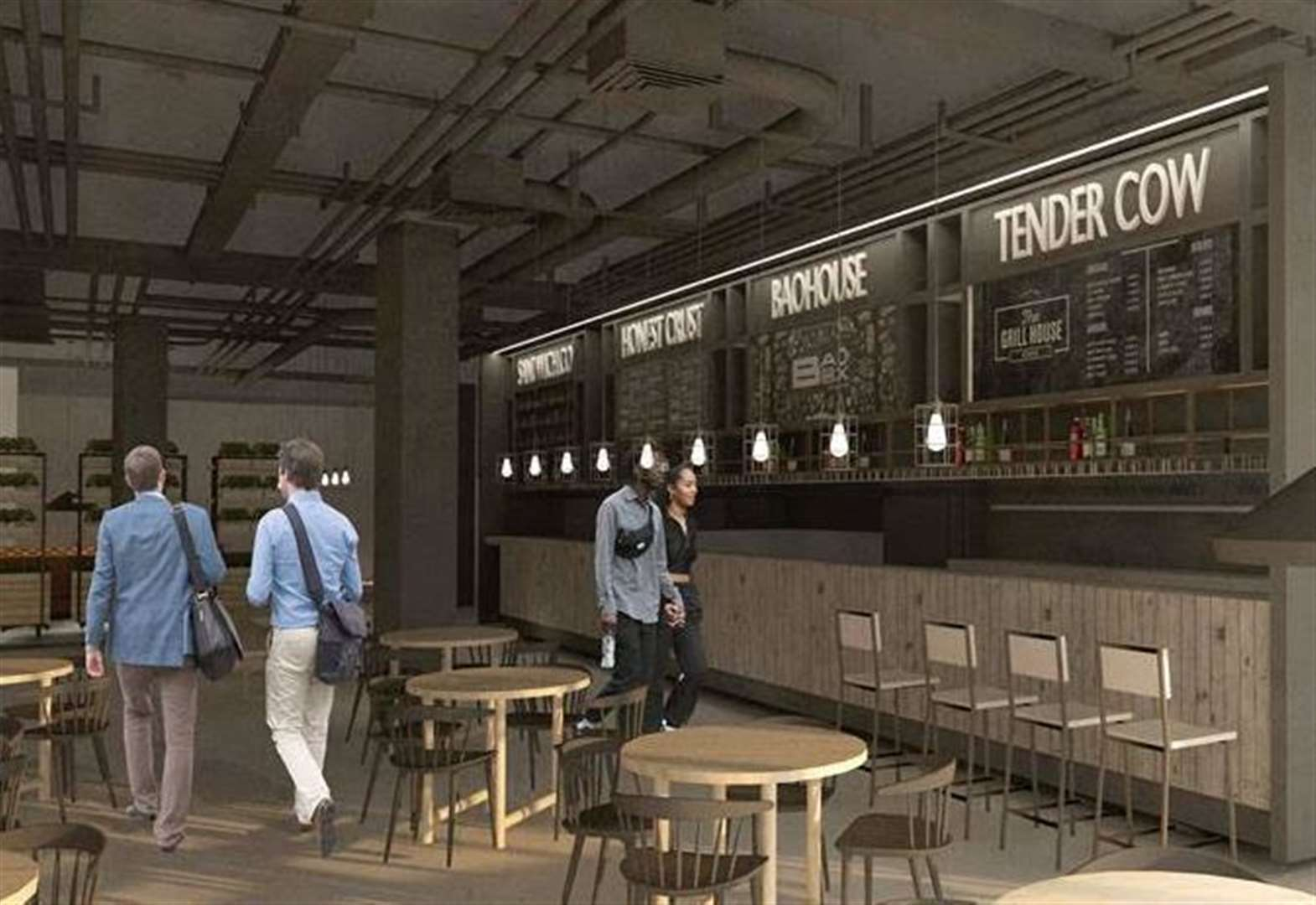 Name chosen for new £467k food hall
