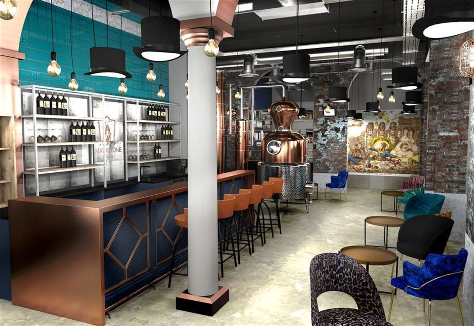 Distillery and bar to open in town centre