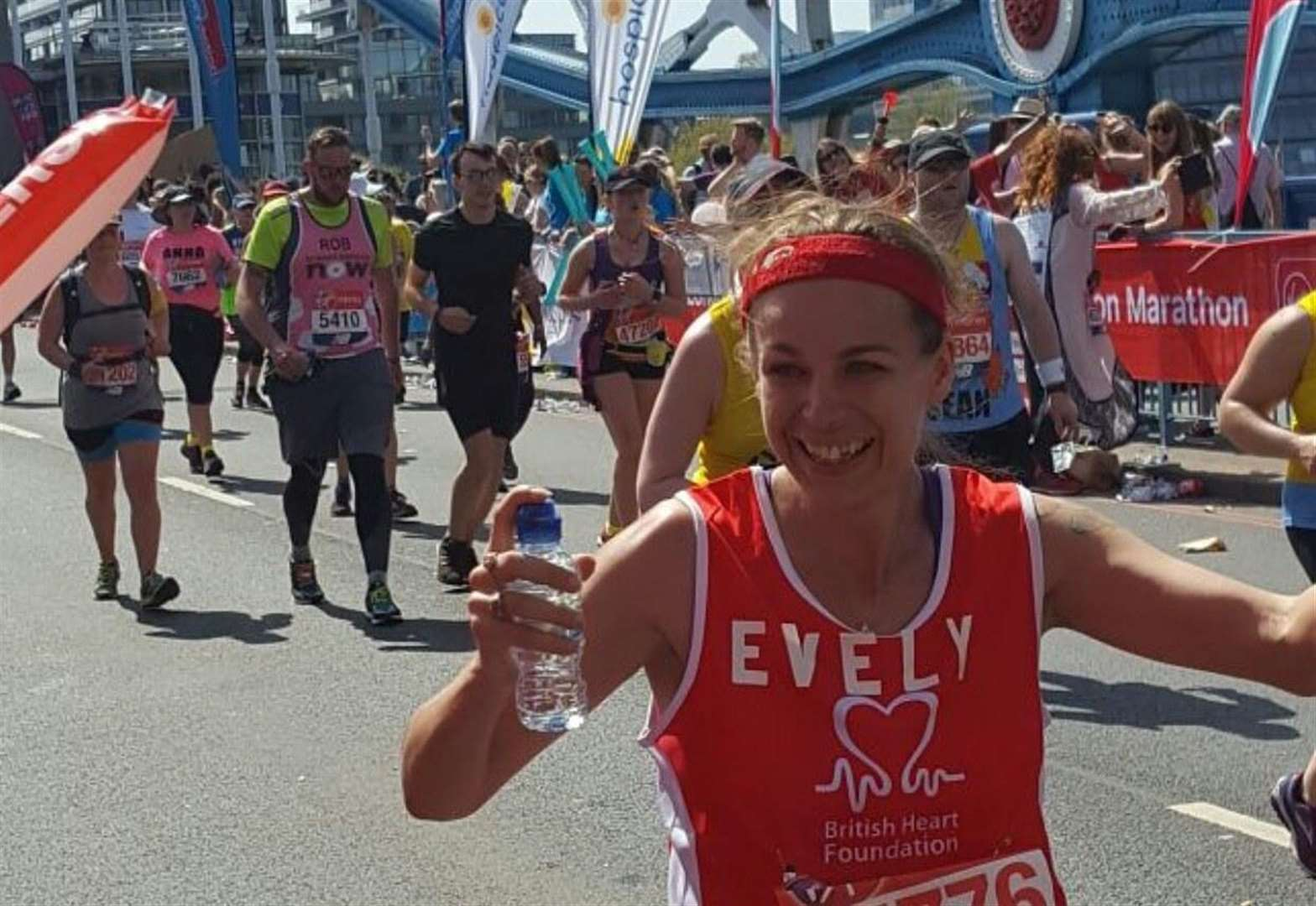 'Supermum' taking on final marathon