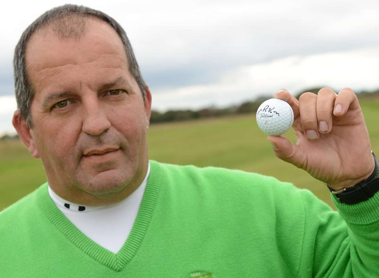 Golfer lays claim to hole-in-one record
