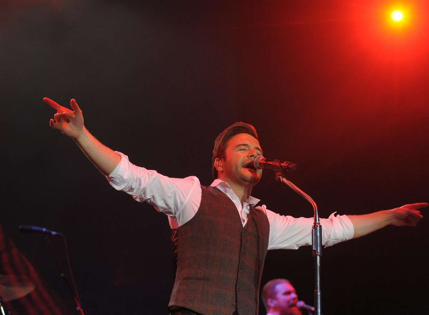 Westlife's Shane Filan wows Castle Concerts crowd