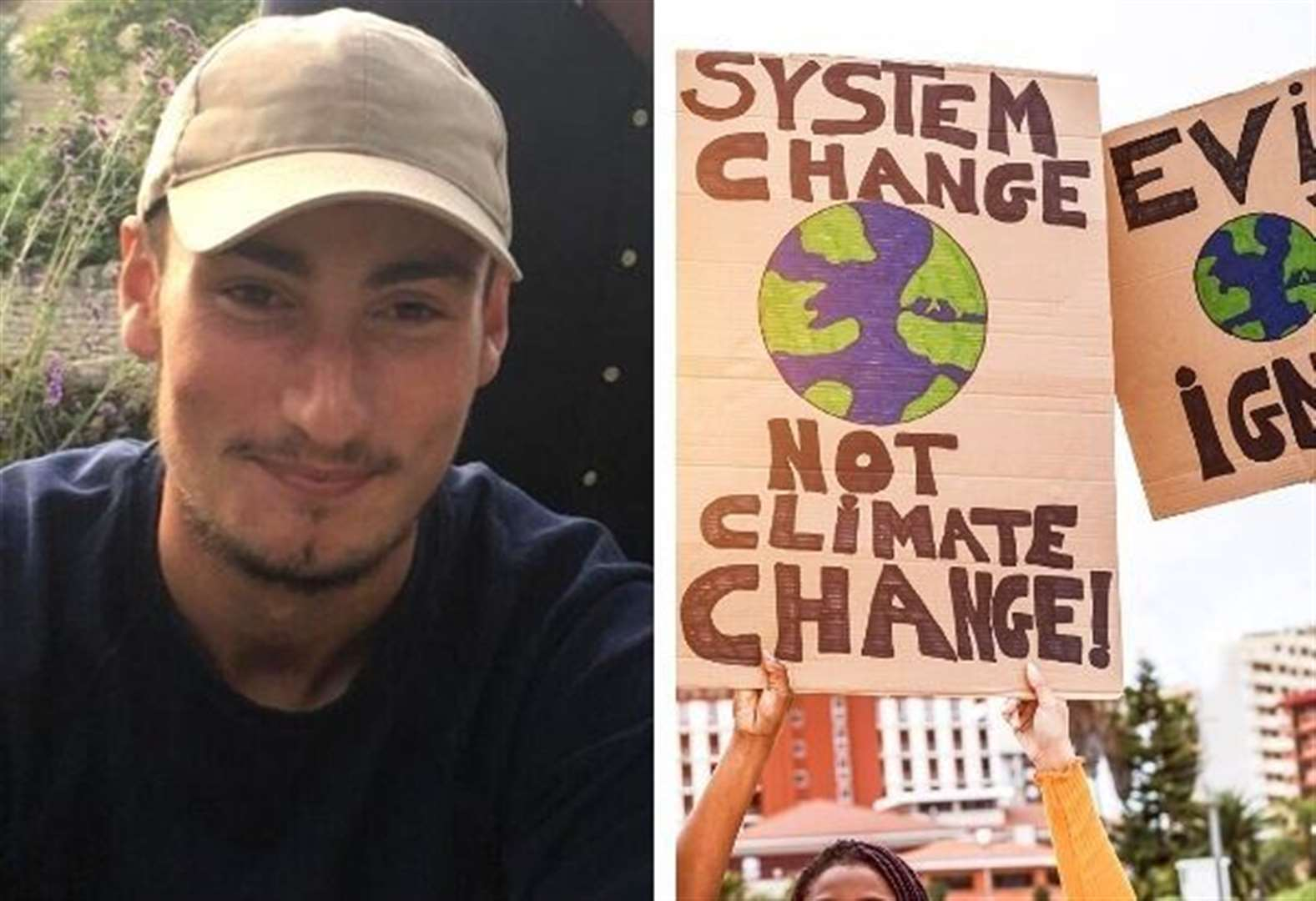 'I'm going on hunger strike to stop climate change'