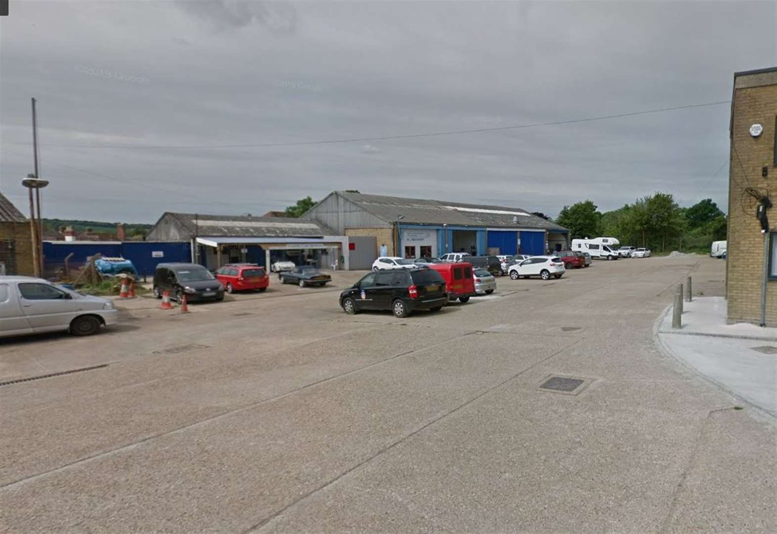 Industrial estate rocked by catalytic converter thefts
