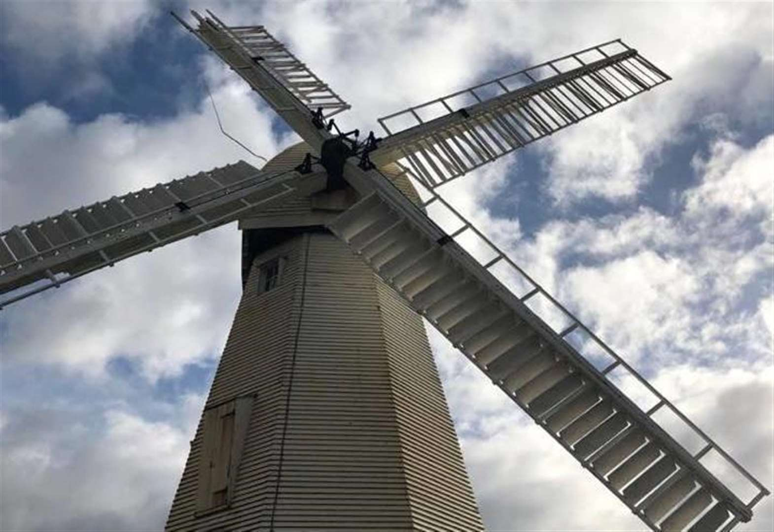 Windmill damaged... by wind