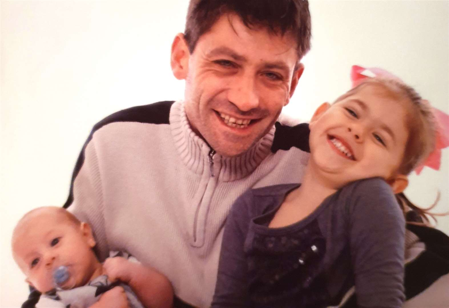 Children's heartache as dad killed in crash