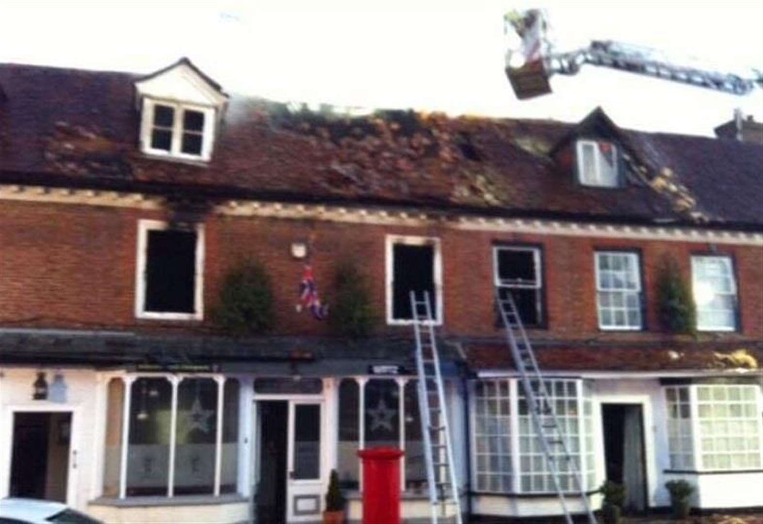 Dad tells of dramatic night-time rescue as fire took hold