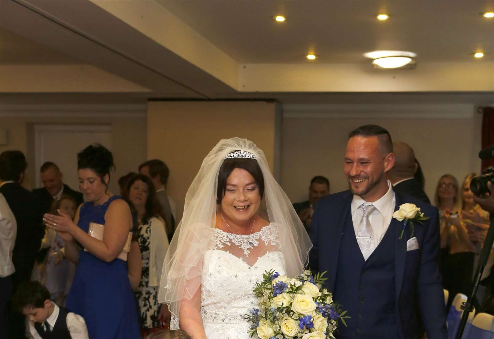 Wedding joy for mum with only months to live