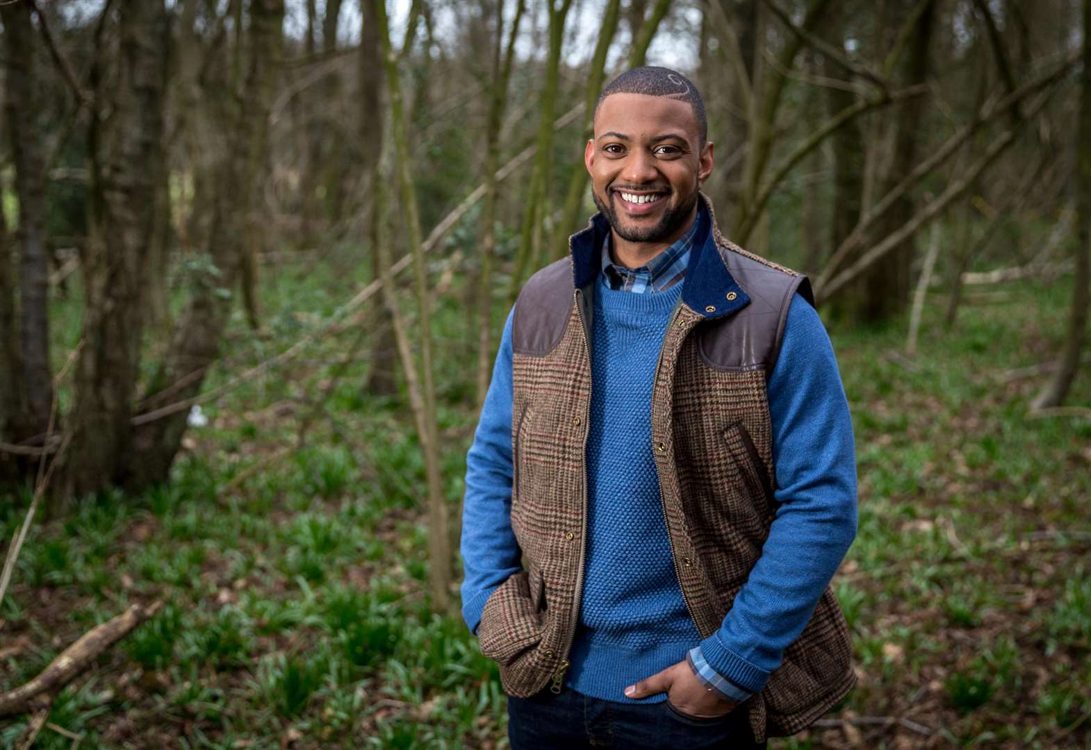 Riverbank tales with JLS's JB Gill